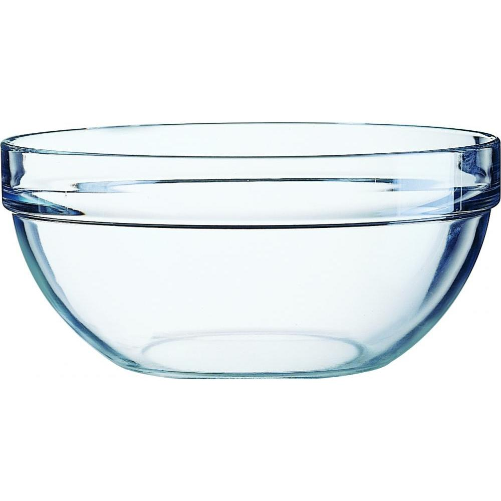 STACKABLE BOWLS WITH LIDS X4